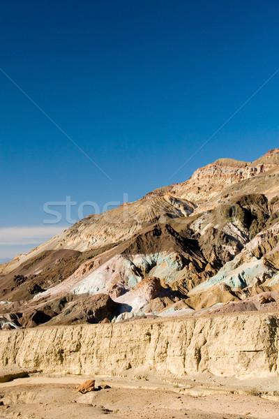 Désert montagnes sécher mort vallée paysage Photo stock © cmcderm1