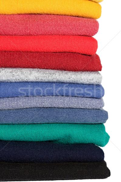 Kleding gekleurd plank textuur Stockfoto © cmcderm1