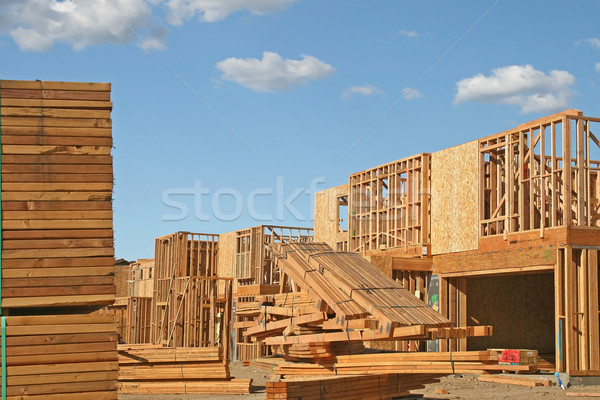 New Home Construction Stock photo © cmcderm1