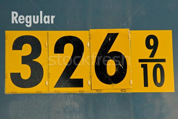 High Price of Gasoline Stock photo © cmcderm1