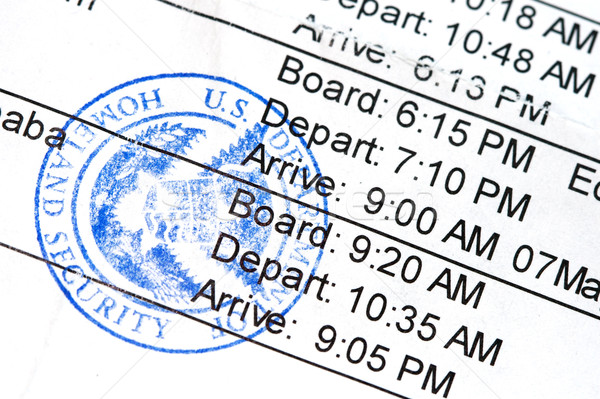 Boarding Pass Stock photo © cmcderm1