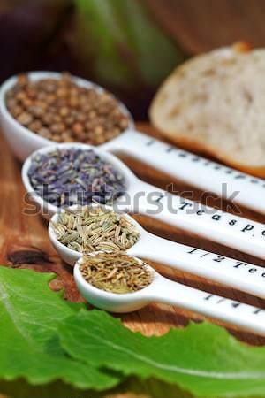 Herbes vieux feuille Photo stock © cmcderm1