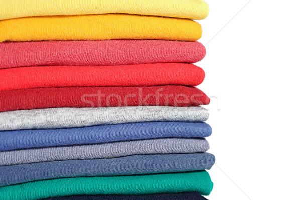 Elbise renkli raf doku Stok fotoğraf © cmcderm1