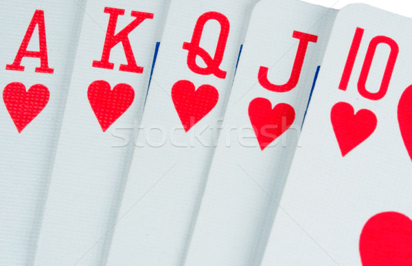 Poker Hand Stock photo © cmcderm1