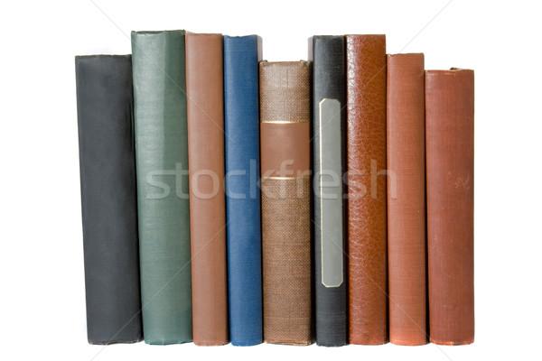 Kitaplar eski nadir antika defter Stok fotoğraf © cmcderm1