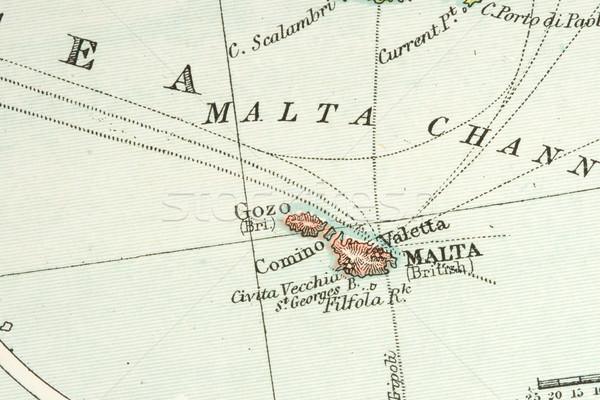 Antika harita bağbozumu ticaret Stok fotoğraf © cmcderm1