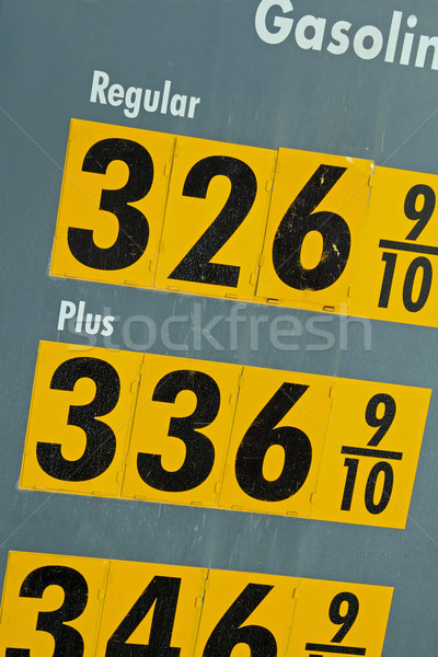 High Price of Gasoline Stock photo © cmcderm1