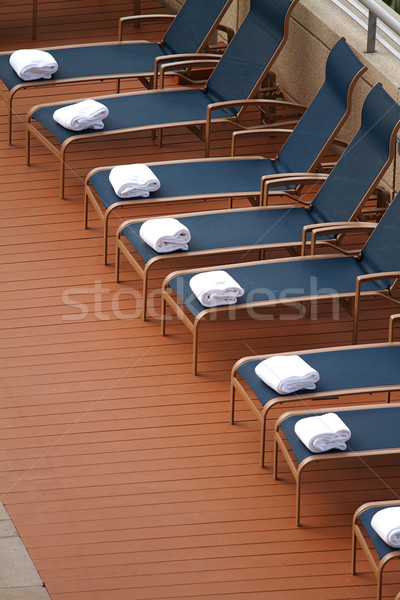 Chaise Longues Stock photo © cmcderm1