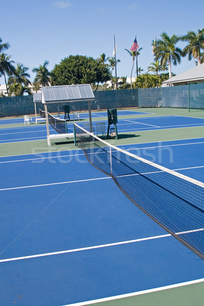 Resort Tennis Club Stock photo © cmcderm1