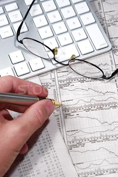 Stock photo: Business Finance