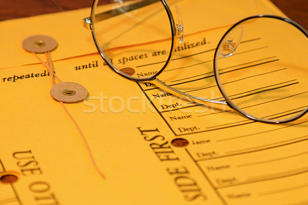 Memo Envelope Stock photo © cmcderm1