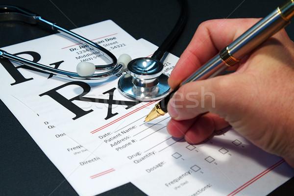 Stock photo: Medical Stethoscope