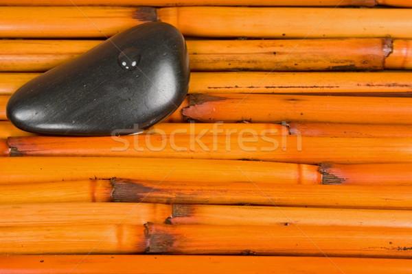 Spa bamboe luxe spa-behandeling textuur gezondheid Stockfoto © cmcderm1