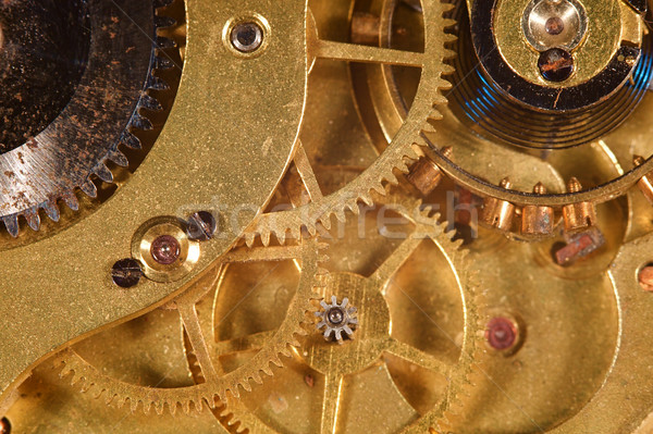 Watch Gears Stock photo © cmcderm1