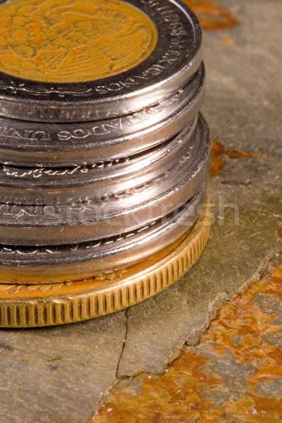 Financial Coins Stock photo © cmcderm1