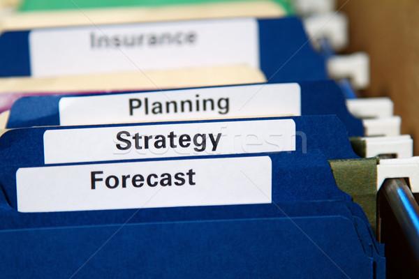 Business Folders Stock photo © cmcderm1