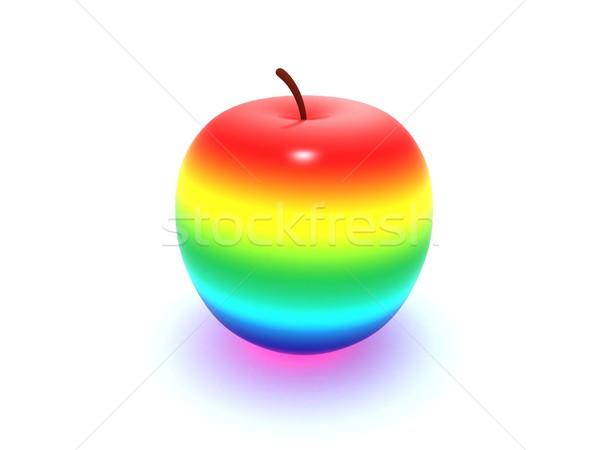 радуга яблоко аннотация красный гей сока Сток-фото © cnapsys