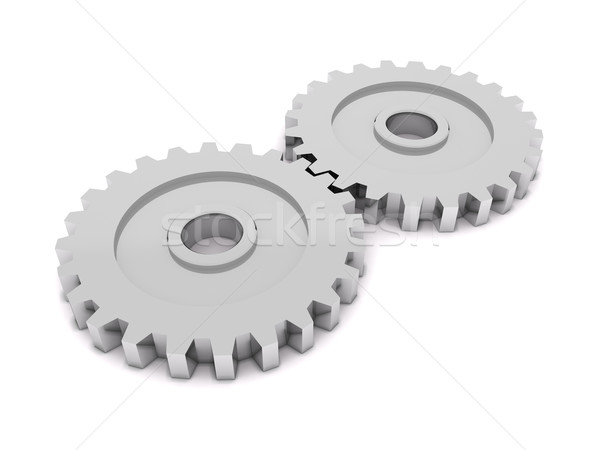 Gears Stock photo © cnapsys