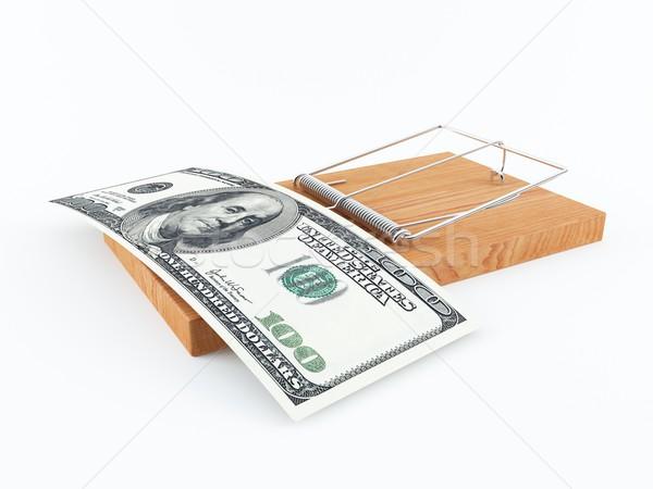 お金 トラップ 3D レンダリング マウス 100 ストックフォト © cnapsys