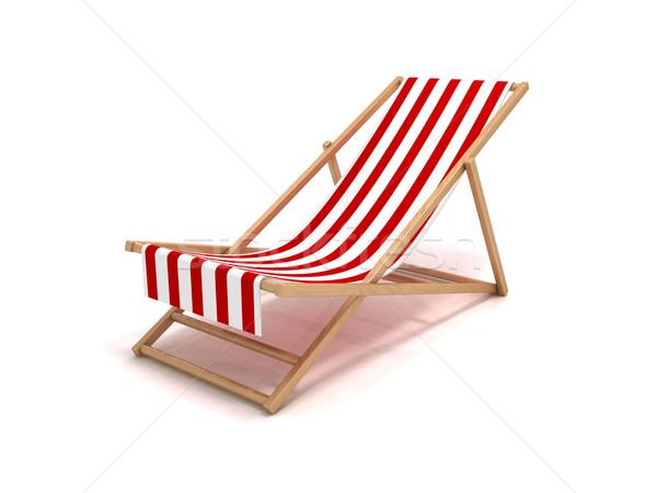 Beach chair Stock photo © cnapsys