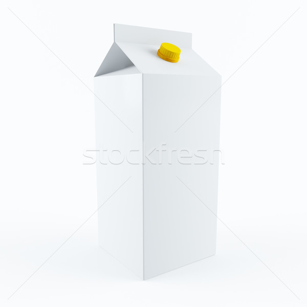 Milk carton Stock photo © cnapsys
