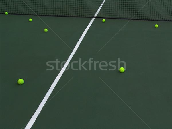 теннис суд практика области подготовки Сток-фото © cnapsys