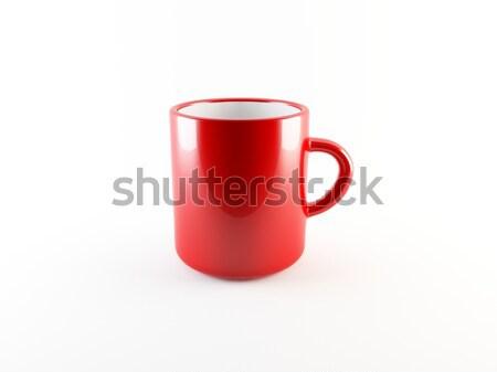 Xícara de café comida café vidro chocolate quarto Foto stock © cnapsys