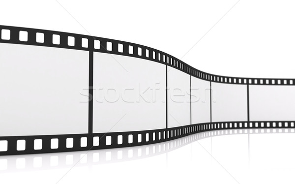 35mm film rollen 3D ontwerp Stockfoto © cnapsys
