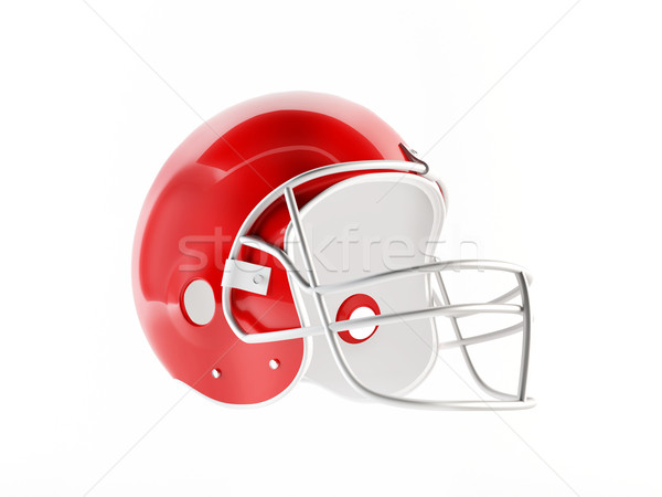 Football helmet Stock photo © cnapsys