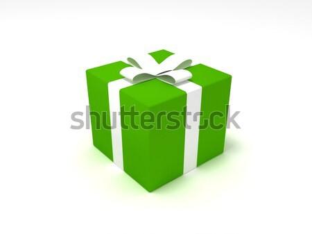 Natal apresentar 3D amor compras Foto stock © cnapsys