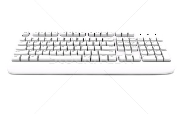 Computer keyboard Stock photo © cnapsys