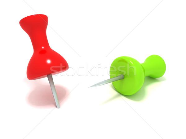 служба 3D пару зеленый Сток-фото © cnapsys