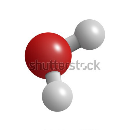 Water molecule Stock photo © cnapsys