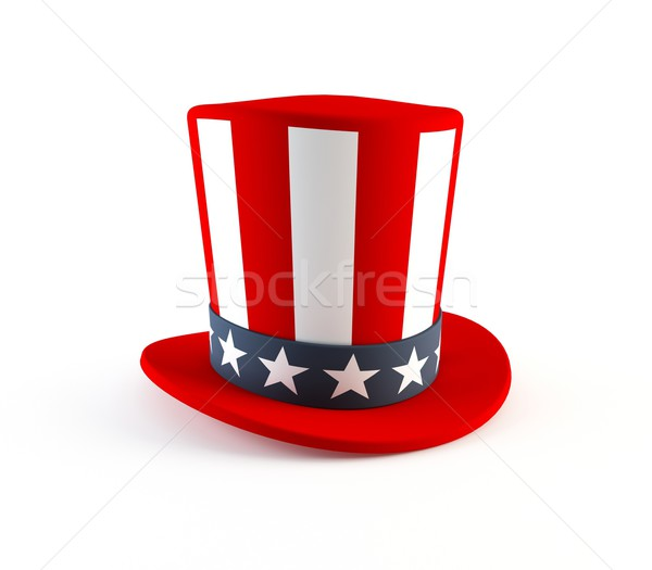 4th of July hat Stock photo © cnapsys