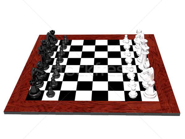 Chess board Stock photo © cnapsys