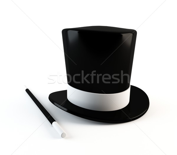 Magician's hat Stock photo © cnapsys