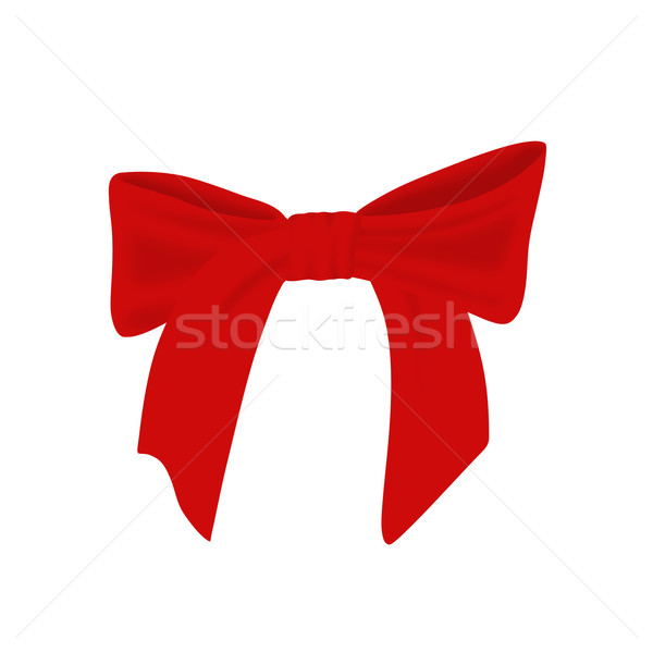 Red bow Stock photo © cnapsys