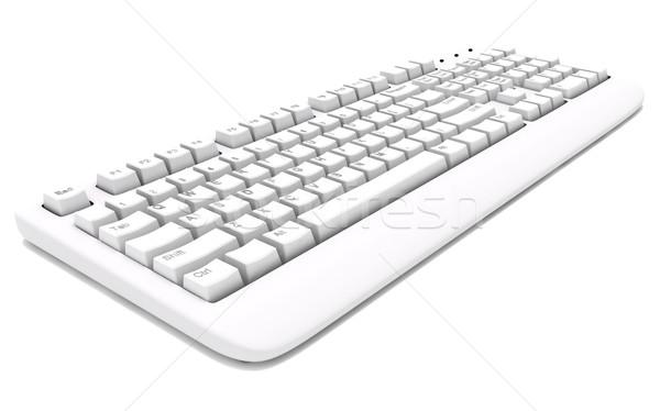 Сток-фото: 3D · бизнеса · компьютер · служба
