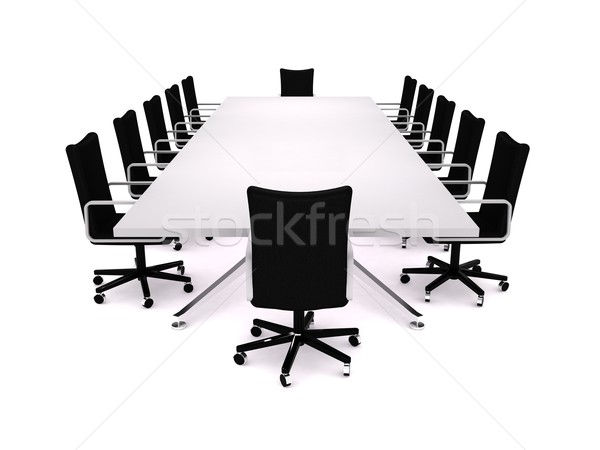 Boardroom Stock photo © cnapsys