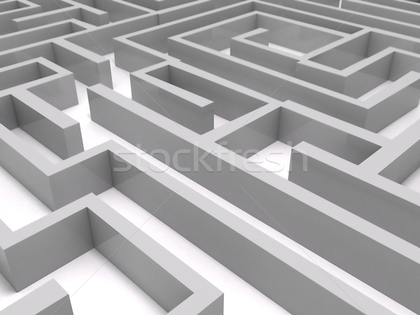 Maze Stock photo © cnapsys