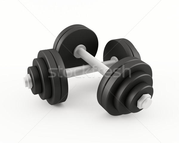 Dumbbells Stock photo © cnapsys