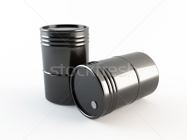 Oil barrels Stock photo © cnapsys