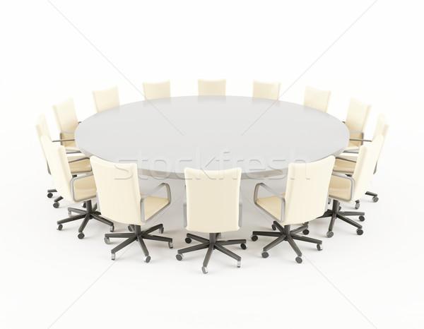 Sala de juntas mesa 3d sillas oficina for Sillas para sala de juntas