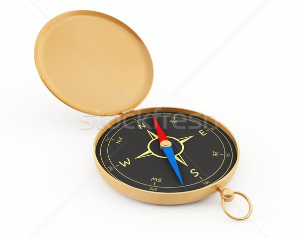 навигация компас 3D закрывается Сток-фото © cnapsys