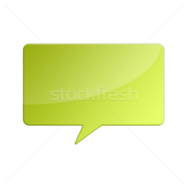 Comment bubble Stock photo © cnapsys