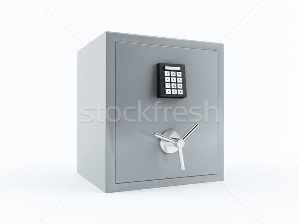 Bank safe Stock photo © cnapsys