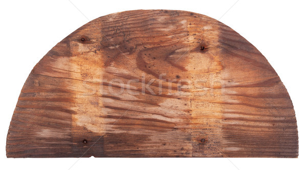 Wooden semicircle Stock photo © Coffeechocolates