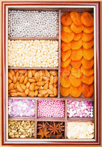 Set decorating baking Stock photo © Coffeechocolates