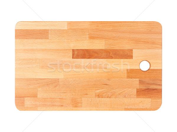 Novo cozinha conselho horizontal peças diferente Foto stock © Coffeechocolates