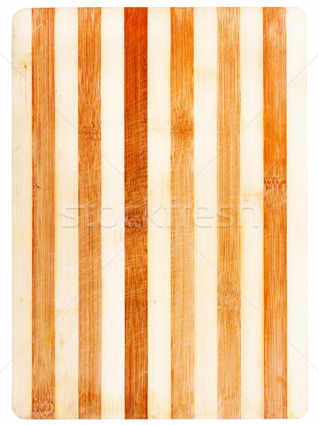 Background bamboo wood Stock photo © Coffeechocolates